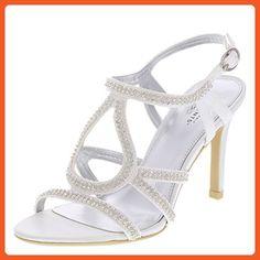 Unforgettable Moments Women's White Women's Lovestruck Stone Sandal 13 Regular - Sandals for women (*Amazon Partner-Link)