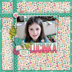 Digital layout using Sweet Life by Amber Shaw at Sweet Shoppe Designs