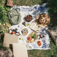 Good morning! Picnic with freshly picked fruits can it get any better?