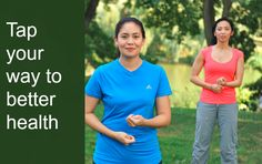 Tap your way to better health- Michelle Gavin!