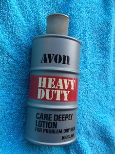Vintage Avon Heavy Duty care deeply lotion