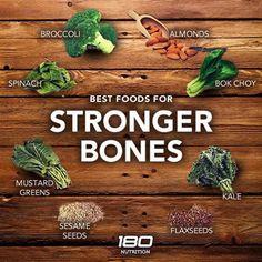 Not into Dairy...Best Foods for Stronger Bones