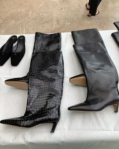 The Wide Shaft Boot ~ Toteme Heeled Boots, Bootie Boots, Shoe Boots, Shoe Bag, Ankle Boots, Baskets, Unisex, Dream Shoes, Pumps