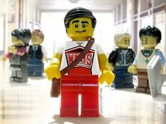 Welcome back to McKinley! Finn Hudson, Lego Boards, Glee, Legos, Making Out, Musicals, Tv Shows, My Favorite Things, Kids