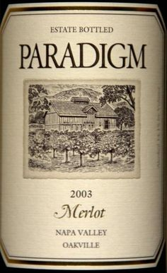 Paradigm Merlot 2008 - On allocation in NJ, so a bit pricey. Very good, but I won't pay $50 for it more than once. Still love their cabs best.