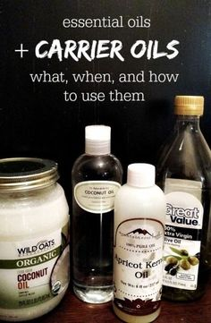 Essential Oils + Carrier Oils – What, When, and How to Use Them – MomPrepares