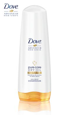 Pure Care Dry Oil Conditioner. It really does work. Your hair will be so soft and not greasy at all.