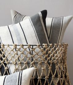 L'Aviva Home Bolivian alpaca pillows | Remodelista