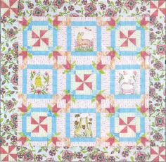 Sorry not sure who made this quilt?  But the fabric is definitely by Cori Dantini for Blend!