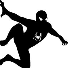 Silhouette Spiderman