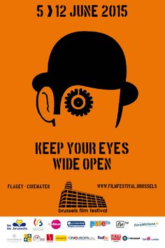 Poster 2015 Brussels Film Festival