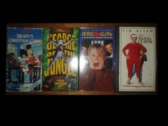 LOT OF 4 KIDS VHS Tapes Home Alone Santa Clause Mickey Mouse George of Jungle | Entertainment Memorabilia, Movie Memorabilia, Other Movie Memorabilia | eBay!