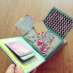 mini paper bag album