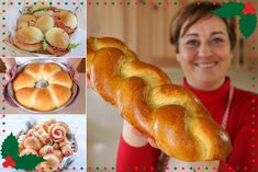 Italian Cooking, Italian Recipes, Biscuit Bread, Wie Macht Man, Pan Dulce, Wonderful Recipe, Antipasto, Food Illustrations, Hot Dog Buns