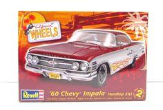 1960 Chevy Impala Revell #85-4248 1/25 New Plastic Model Car Kit – Shore Line Hobby