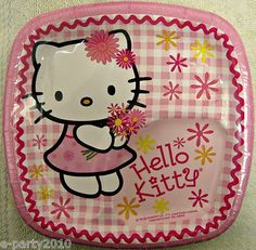 Hello Kitty Party Plate