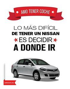 ¿Cuál es tu destino favorito a bordo de tu Nissan? #Autocom #Nissan #Tiida