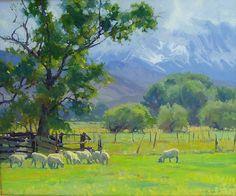 """Below the Sierras by Kevin Macpherson Oil ~ 30"""" x 40"""""""