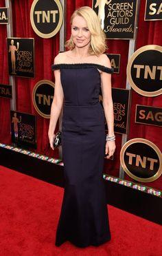 Pin for Later: Wir nehmen euch mit auf den roten Teppich der SAG Awards! Naomi Watts