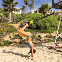 A new perspective for your pursuit of better. #TRX : @tight_and_tone_now #fitness #fitspo