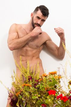 Woody Fox By Andrew Stubbersfield Photography – Part 3 – DNA Magazine Australia Bloom Where Youre Planted, Le Male, Floral Flowers, Woody, Dna, Hot Guys, Sexy, Swimwear, Photography