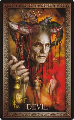 Tarot Major Arcana, Tarot Card Decks, Affirmation Cards, Oracle Cards, Archetypes, Photomontage, Deck Of Cards, Devil, Morning Star