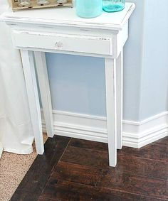 This old house- fake baseboards