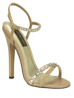Taupe Tahiti Johnathan Kayne Prom | Pageant Shoes