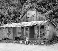 The Country Store....This one is Penn's Store in Gravel Switch, Ky. It has been run by the same family since 1850.