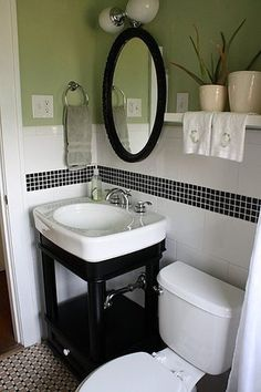 tiny bathroom i thought i wanted a pedastal sink, but i'm pretty sure i want something more like this
