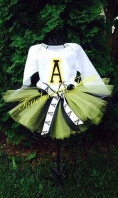 Appalachian State Tutu outfit  or pick your team by TouchdownTutus, $40.00