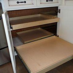 35 best blind corner cabinet images storage crates closet storage rh pinterest com DIY Blind Cabinet Solutions Kitchen Corner Cabinet Upper Shelf