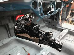 Triumph Spitfire 1500 - Body on chassis complete - now the work begins to rebuild