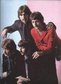George & Paul + John & Ringo | via Beatle Love ~ Cityhaüs Design