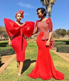 south african traditional dresses for black girls - shweshwe ShweShwe 1 African Print Wedding Dress, African Wedding Attire, African Print Dresses, African Print Fashion, African Attire, African Fashion Dresses, African Dress, African Prints, Xhosa Attire