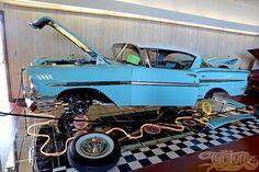 www.layitlow.com 1958 Chevy Impala, Monster Trucks