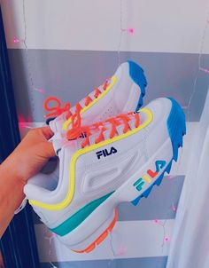 FILA Rainbow Shoes Source by carolineartis de mujer fila Source by rosalyncrosarioRosalyn de mujer fila Sneakers Fashion, Fashion Shoes, Shoes Sneakers, Yeezy Shoes, Shoes Men, Boys Shoes, Sneaker Store, Rainbow Shoes, Aesthetic Shoes