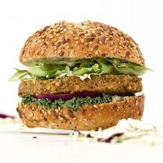 BBQ Tofu Burger | VegAnnie Gluten Free Dinner, Vegan Gluten Free, Vegan Egg, Low Calorie Desserts, Vegan Desserts, Vegan Pumpkin Pie, Healthy Pumpkin, Pumpkin Spice, Vegan Burgers