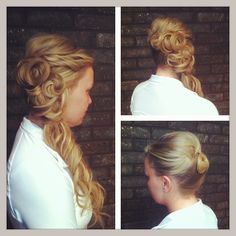 #Wedding Hair #Grad Hair #Updo