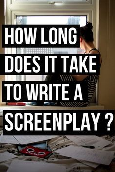 Feel like it's taking forever to write your film script? I had a look at some famous screenplays to see how long it took for their writers to finish them. 6 famous screenplays are included in this blog post.