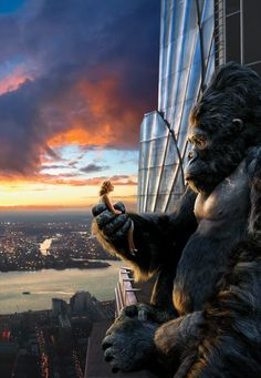 King Kong 2005 with Naomi Watts