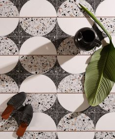 Terrazzo is currently trending throughout the design world. This popular material has however been around for centuries. Reminiscence of terrazzo tile can be found in ancient temples which date all the way back to ancient Egypt and Rome.