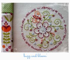 Look what's inside the January 17th Stitchery Club set!  JOIN the Stitchery Club in 2015 for six new designs every month delivered as a pdf file to your email!