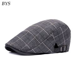 Find More Newsboy Caps Information about New Fashion Sports Plaid Newsboy Caps for Men Women Classic Unisex Cotton Plaid Caps Berets Hats Boina Outdoors Flat Ivy Cap,High Quality cap kate,China fashion military cap Suppliers, Cheap cap sun from Bys Store Store on Aliexpress.com