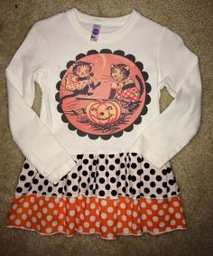 Check out this listing on Kidizen: Vintage Lucy's Halloween Dress/Tunic