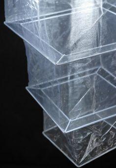 Silk Lanterns Long White Square 33in