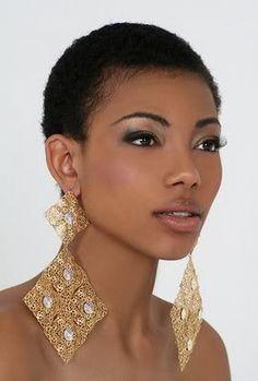DigitalCurls: Natural Hair Inspiration: TWA(teeny weeny afro)