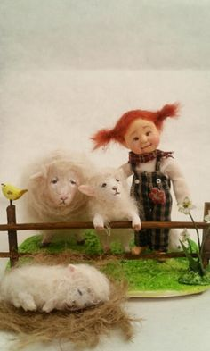 Sheep welcoming Min doll factory