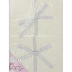 Create Your Own Cream Greetings Cards - Pack Of 50