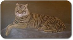 Waldorf ~ 4th grade ~ Human & Animal ~ Tiger ~ chalkboard drawing ~ http://www.waldorf-ideen-pool.de/index.php?aid=1570